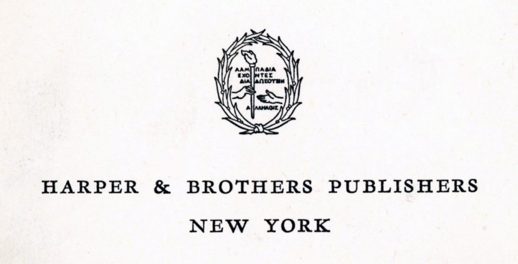 publisher-harper-brothers-publishers