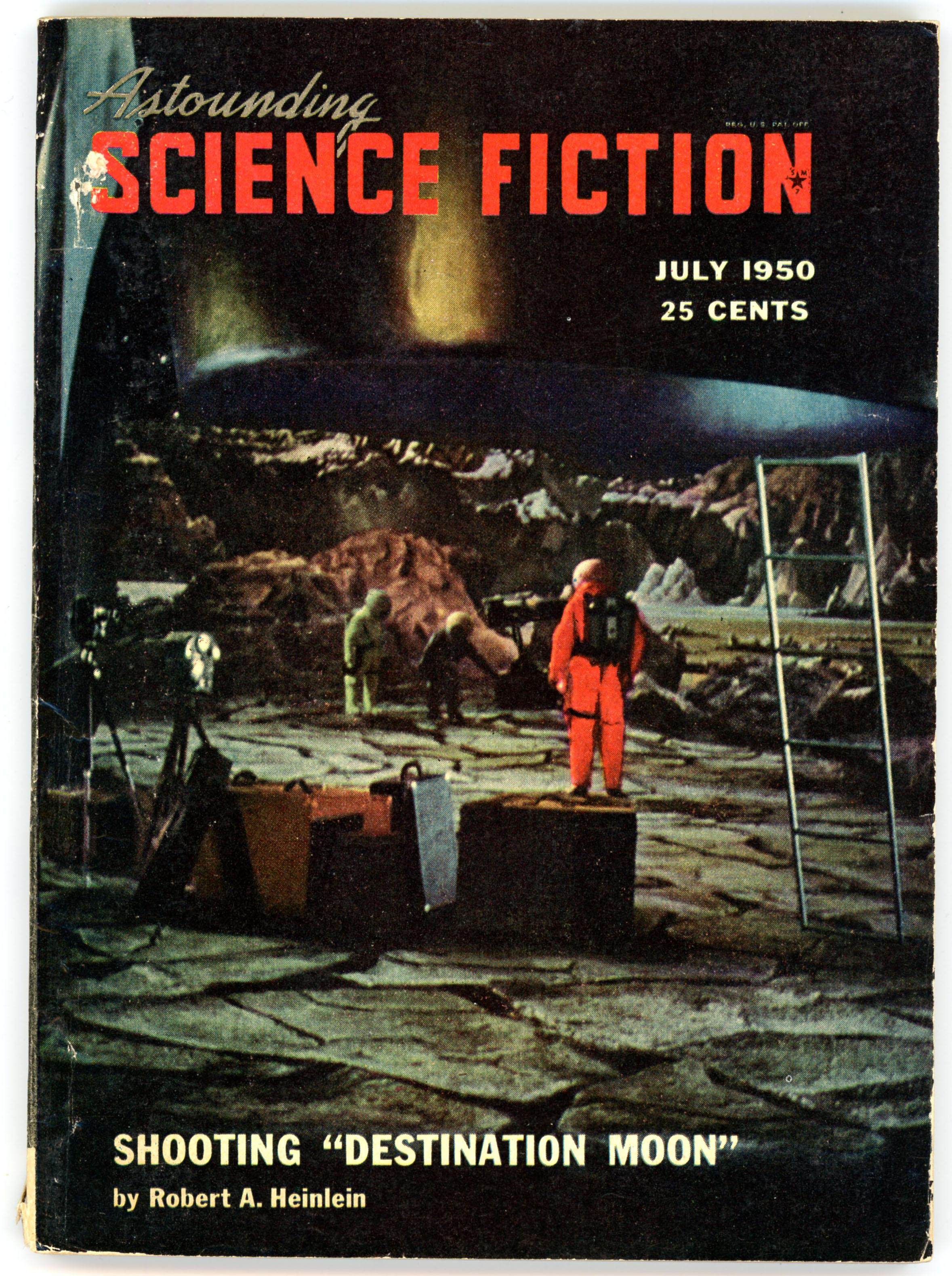 Astounding Science Fiction  July  Featuring An Essay On The  Astounding Science Fiction  July  Featuring An Essay On The Filming  Of Destination Moon By Robert A Heinlein