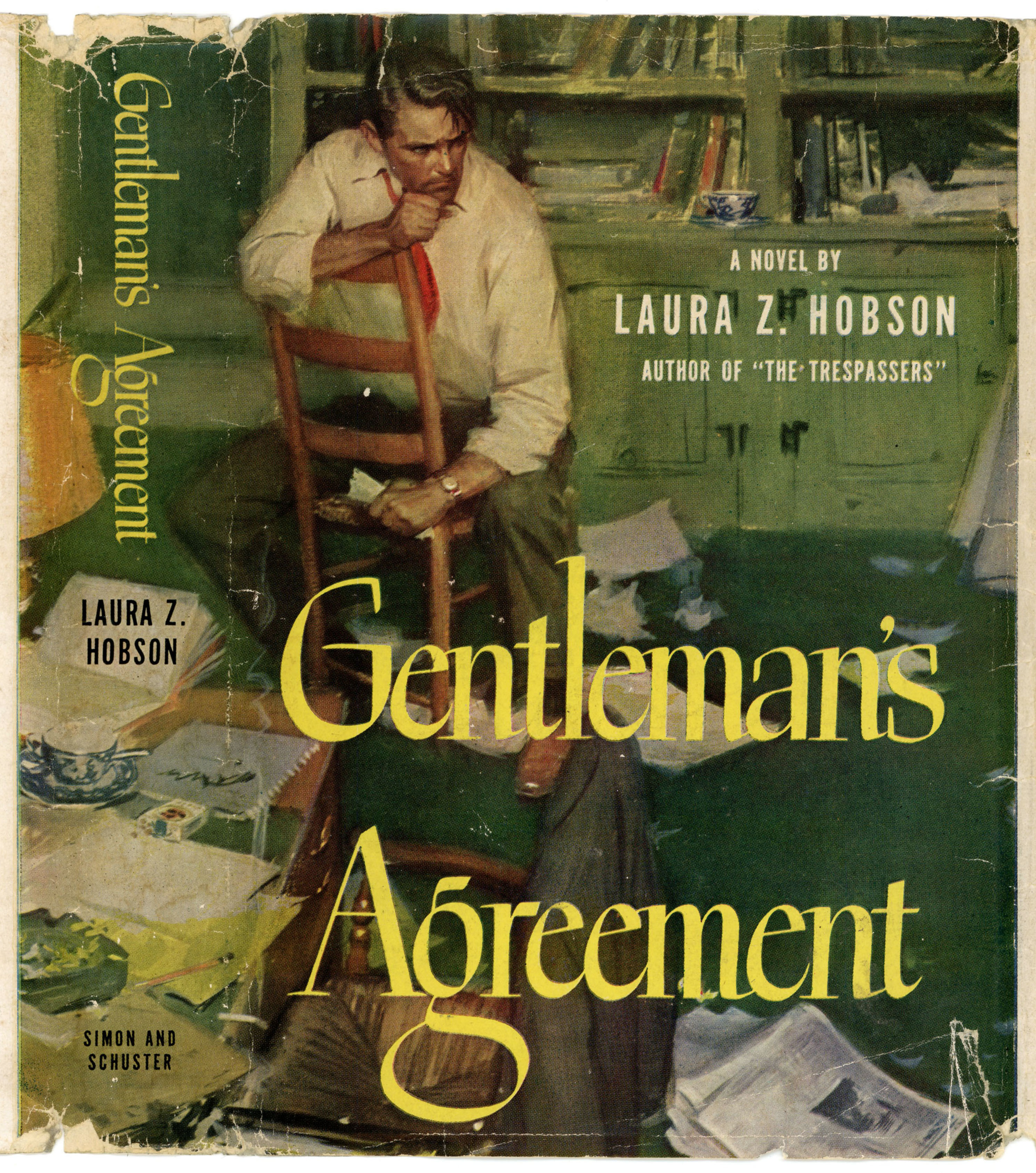 Gentlemans Agreement By Laura Z Hobson 1947 Tom Lovell